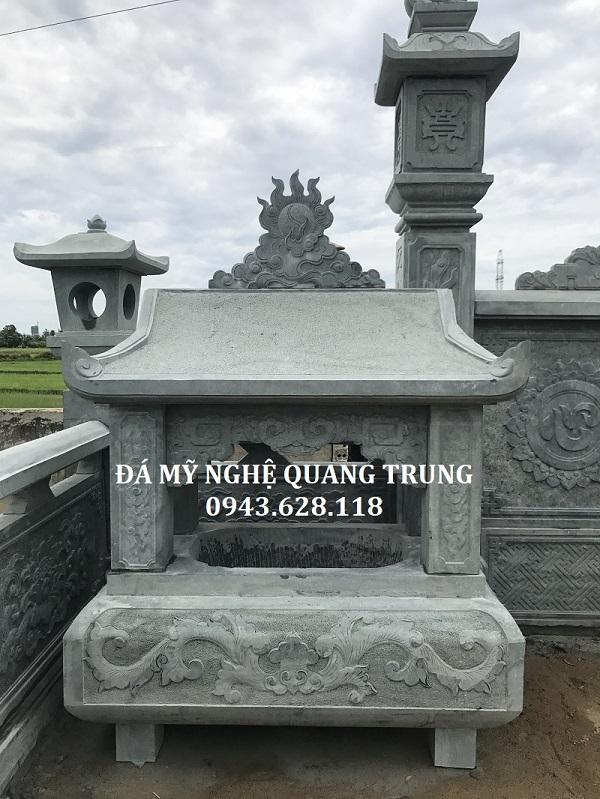 Lo Hoa So bang da xanh reu cao cap Quang Trung