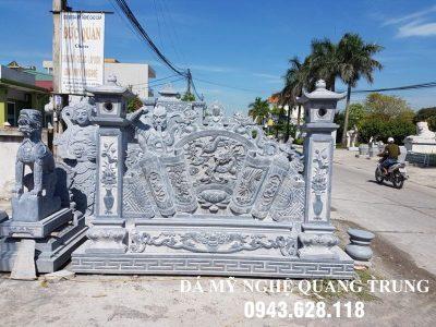 Mẫu Cuốn thư đá tại Đà Nẵng