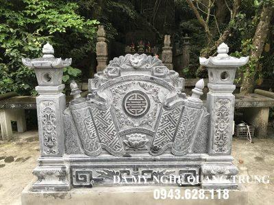 Mẫu Cuốn thư đá tại Hà Nội