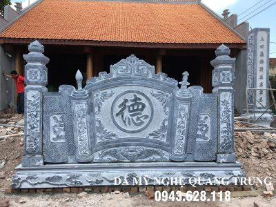 Mẫu Cuốn thư đá tại Ninh Bình