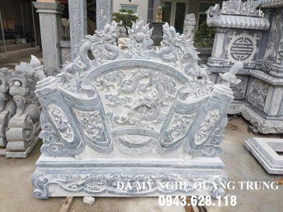Mẫu Cuốn thư đá tại Hà Tĩnh