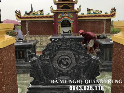 Mẫu Cuốn thư đá tại Nam Định