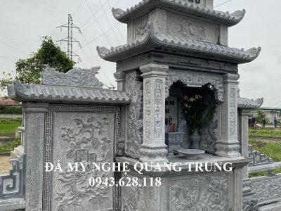 Lăng thờ đá bặt băm đẹp của Võ Tộc Chi Lăng Mộ