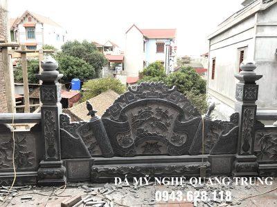 Mẫu Cuốn thư đá tại Vĩnh Phúc