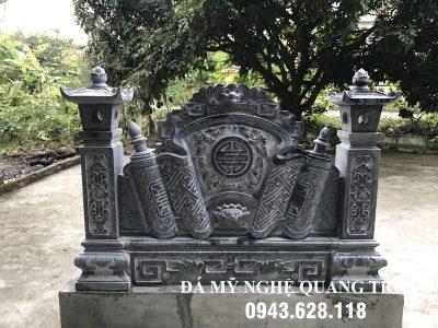 Mẫu Cuốn thư đá tại Huế