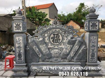 Mẫu Cuốn thư đá tại Vĩnh Long