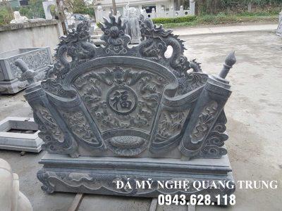 Mẫu Cuốn thư đá tại Thanh Hóa