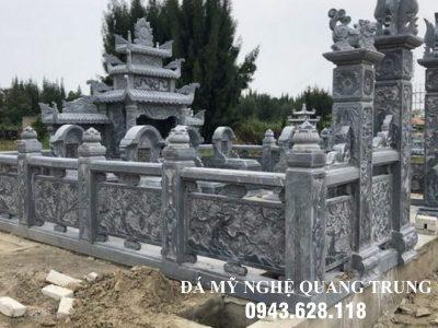 Xây Lan can đá tại Cao Bằng