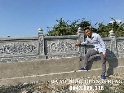 Xây Lan can đá tại Bình Thuận
