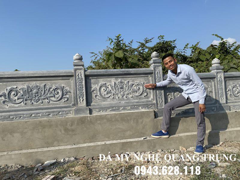Mau thiet ke Lan can da cao cap cua Nghe nhan tre Quang Trung