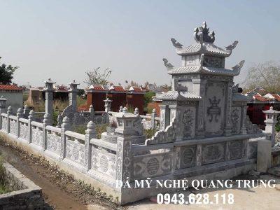 Xây Lan can đá tại Bình Phước