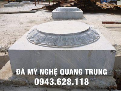 Mẫu Chân tảng đá Hà Nội