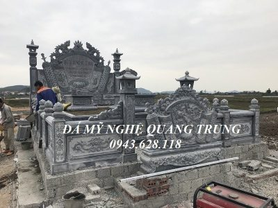 Xây Lăng mộ tổ dòng họ Lê Đức tại xã Diễn Yên, huyện Diễn Châu, Nghệ An