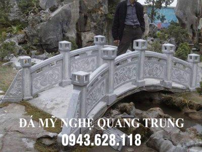 Xây Cầu đá đẹp – Mẫu Cầu đá cho Nhà vườn, Đình, Chùa hiện nay