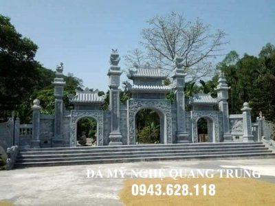 Xây Cổng đá và các Mẫu Cổng đá đẹp tại Ninh Bình năm 2021