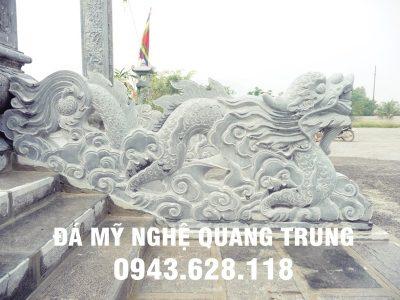 Đặt Rồng đá đẹp, Rồng đá mây nguyên khối tại Ninh Bình