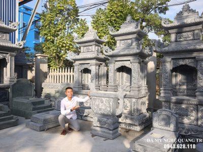 Mẫu Lăng thờ đá đẹp nhất năm 2021 tại Làng đá Ninh Vân, Hoa Lư, Ninh Bình