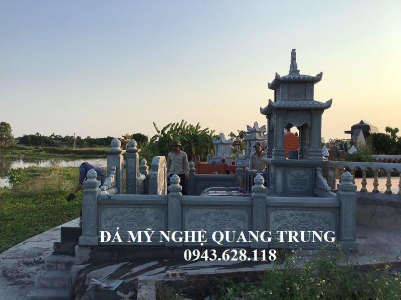 Mat hong khu Lang mo da xanh reu