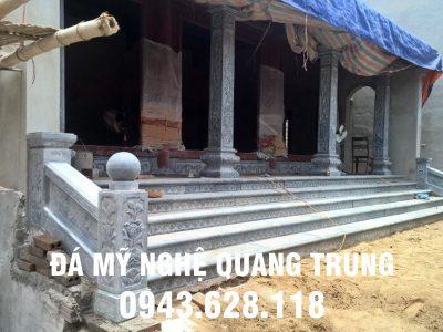 Đặt Cột đá, Bậc thềm đá, Lan can đá cho Nhà thờ họ tại Bắc Ninh