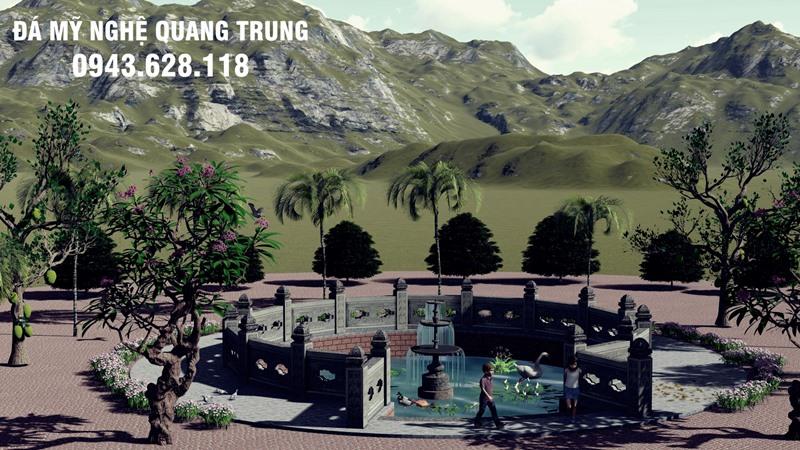 Mau Gieng da dep Quang Trung