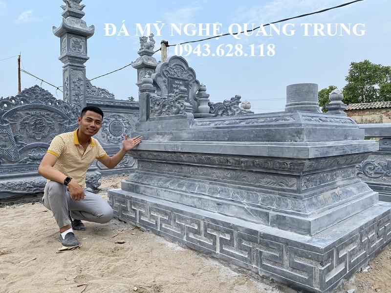 Mau Mo da Tam Son khong mai rat an tuong cua Nghe nhan tre Quang Trung