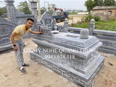Mẫu Mộ đá Tam Sơn đơn cho Lăng mộ đá Ninh Bình đẹp nhất hiện nay