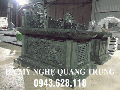 Giá Mộ đá Xanh rêu đẹp Tam Sơn tại Ninh Bình có giá như thế nào?