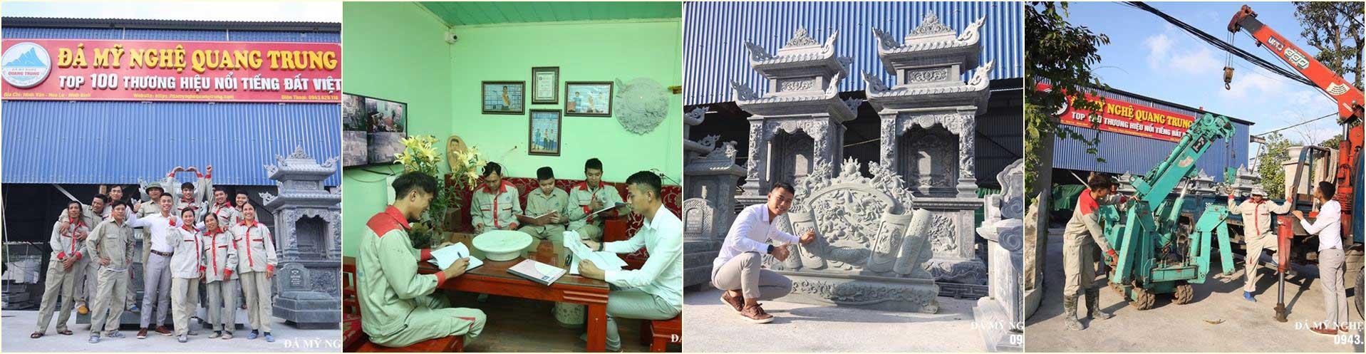 Đá Mỹ Nghệ Quang Trung Ninh Bình - Giá trị bền vững theo thời gian!