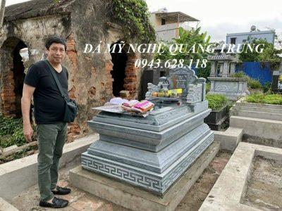 Xây Mộ đá đơn Tam Sơn Đẹp, Chất lượng cao, Giá cạnh tranh tại Ninh Bình